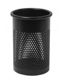 Portalápices metálico perforado color negro