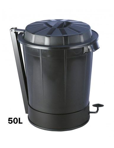 Container with lid.- 50 liters