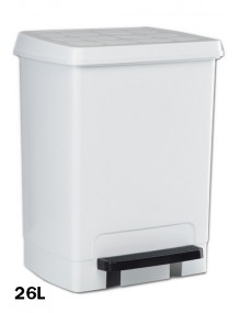 Garbage container with pedal 26 Liters