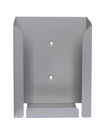Display stand A4V (brochure holders - Silver)