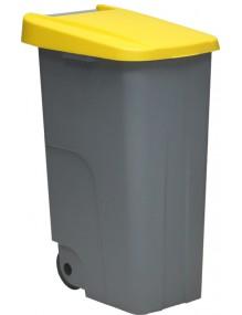 Papelera Contenedor de reciclaje 110 litros (ECO)