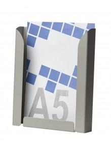 Expositor portafolletos metálico A5V