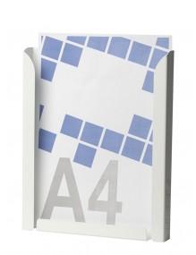 Expositor portafolletos metálico A4V