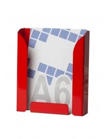 Expositor portafolletos metálico DIN A6