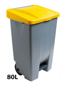 Container with pedal - 80 Liters