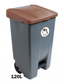 120 liter container with pedal (Label)