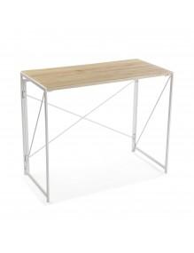 Mesa de escritorio plegable (Color Blanca)