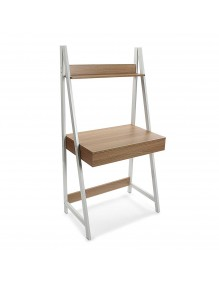 Desks with 1 drawer and 1 shelf - White color