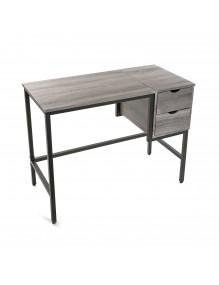 Mesa de escritorio con 2 cajones
