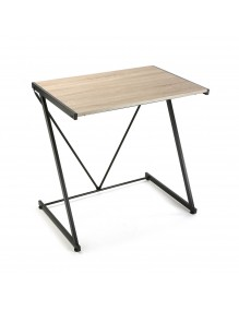 Mesa de escritorio con tablero de madera. Modelo Zeta