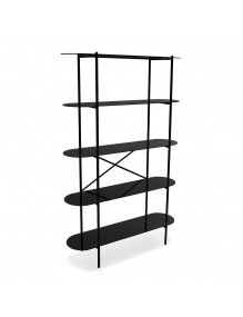 Shelf with 5 shelves of tempered glass