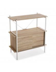 Regal mit 2 Regalen und einer Schublade