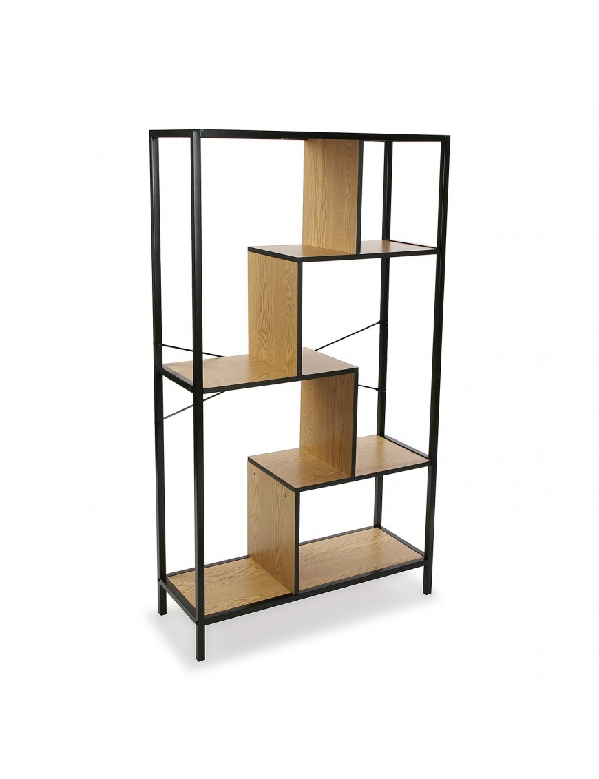Metal shelf or bookcase with 4 shelves