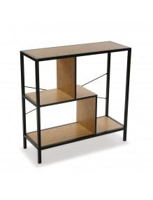 Estantería o librería metálica con 3 estantes