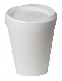 Papelera con tapa basculante capacidad 9 litros