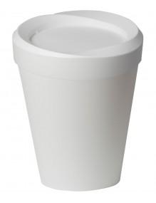 Round polypropylene waste paper bin. 9 Litres