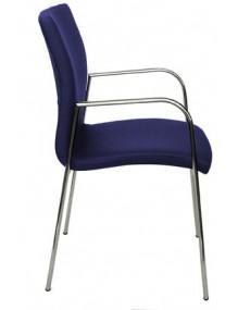 Four-legged visitor chair / FRAME CHROME