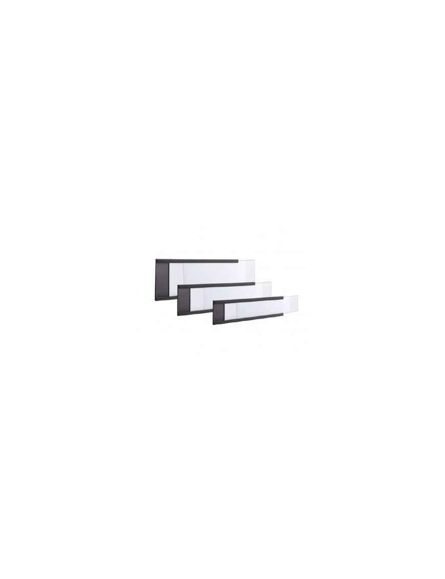Magnetic profile for shelf signage