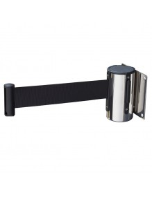 Stainless steel wall separator post with 3m tape
