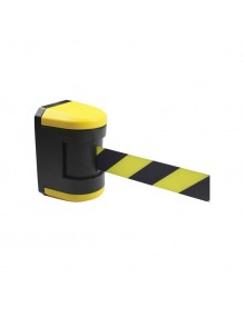 ABS wall separator post with 4.5m tape