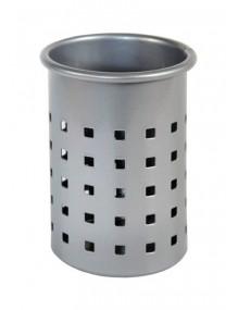 Stiftköcher (Silver - quadratischer Perforierung)