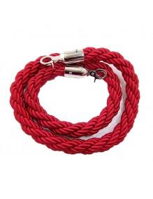 Cordón trenzado de 1,5 metros para poste separador de cordón