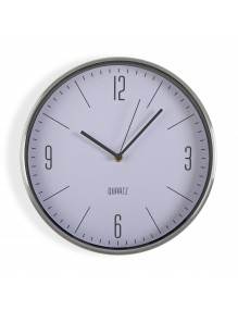 Metal wall clock with a diameter of 30 cm
