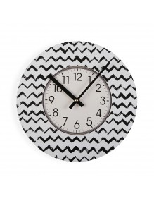 """Wall clock with a diameter of 29 cm, model """"Moutains"""""""