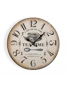 "Wall clock with a diameter of 29 cm, model ""Tea"""