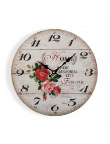 """Wall clock with a diameter of 29 cm, model """"Home"""""""