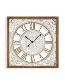 Reloj de pared de madera de 80 cm de diámetro