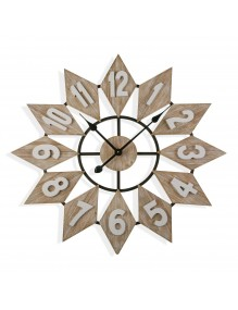 """Reloj de pared de madera modelo """"Diamant"""""""