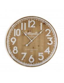 """Reloj de pared de madera de 68 cm de diámetro, modelo """"Antiquité"""""""