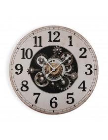 Reloj de pared de madera de 58 cm de diámetro