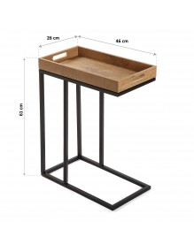 """Side Table, model """"Tray"""""""