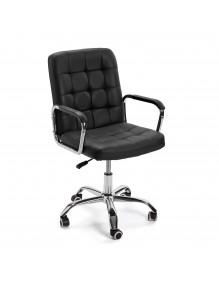 """Silla de oficina regulable en altura en color negro, modelo """"ECO"""""""