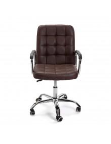 "Silla de oficina regulable en altura en color marrón, modelo ""ECO"""