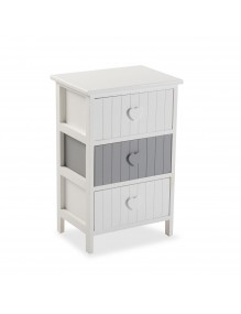 """Furniture for your bathroom with 3 drawers, model """"Heart"""""""