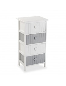 """Furniture for your bathroom with 4 drawers, model """"Heart"""""""