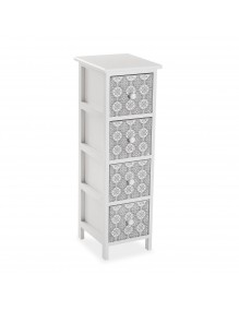 """Furniture for your bathroom with 4 drawers, model """"4D"""""""