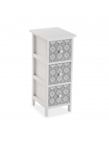 """Furniture for your bathroom with 3 drawers, model """"4D"""""""