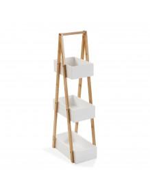 """Mueble baño con 3 baldas, modelo """"Bambú"""""""