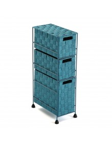 """Furniture for your bathroom with 3 drawers, model """"Azul"""""""