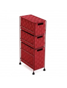 """Furniture for your bathroom with 3 drawers, model """"Burdeos"""""""