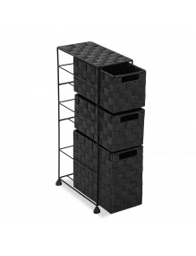 """Furniture for your bathroom with 3 drawers, model """"Grafito"""""""