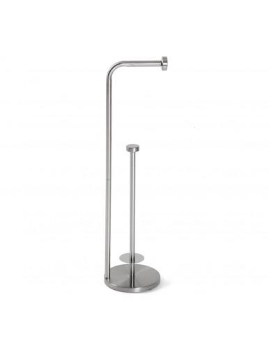"Bathroom roll holder, model ""Acero"""