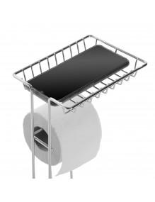 "Bathroom roll holder, model ""Tray"""