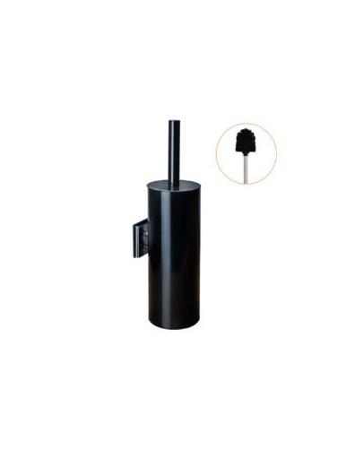 """Wall toilet brush holder, model """"Stainless steel / Matt black"""""""