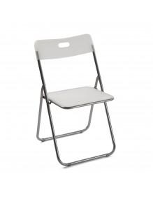 Kitchen chair in white, model Burgos