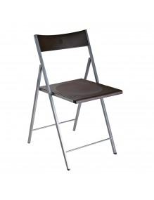 Kitchen chair in black, model Atenea